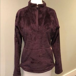 North Face Purple Pullover